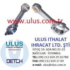 6136-32-3101 Piston Biyel Kolu S6D105 Komatsu Motor