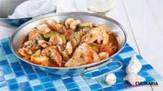 Traga os sabores do Algarve à sua mesa com este prato delicioso.