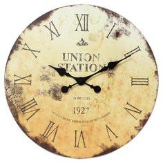 Union Station Wall Clock.