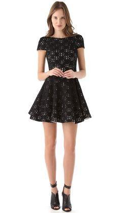 (Limited Supply) Click Image Above: Tibi Jules Lace Dress Stylish Dresses, Casual Dresses, Short Dresses, Dress Me Up, Get Dressed, Ideias Fashion, Lace Dress, Autumn Fashion, Party Dress
