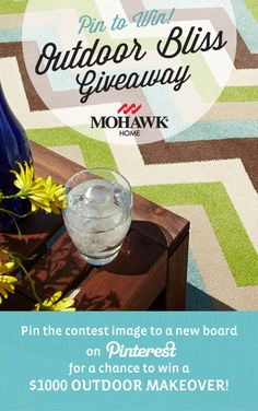 I love this indoor/outdoor rug! #OutdoorBliss #Mohawk