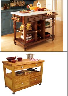 Rosas e Amélias: Mesa de apoio de cozinha