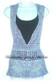Handpainted Yarn by Angelina - The Perfect Skein: Free Pattern-Handpainted Vest