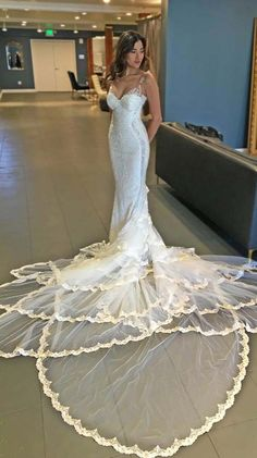 White net bridal dress 2016