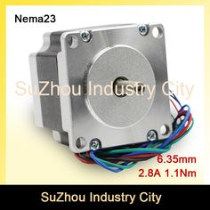 NEMA 23 CNC stepper motor 57X51mm 2.8A 1.1N.m stepping motor 157Oz-in for CNC Router engraving milling machine for 3D printer