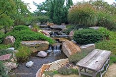 """See our internet site for more info on """"rainwater harvesting architecture"""". It is a superb spot to learn more. Large Backyard Landscaping, Ponds Backyard, Tropical Landscaping, Landscaping With Rocks, Garden Pool, Backyard Waterfalls, Water Garden, Backyard Patio, Low Maintenance Backyard"""