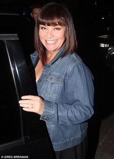 Dawn French for her dignity and for making me howl with laughter.