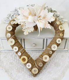 DIY- Shabby Chic Wreath !