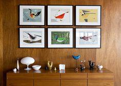 Charley Harper (American Modernist artist)   Bird illustrations