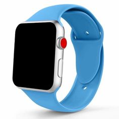Silicone Sport Band Strap for Apple Watch iWatch Series 4 3 2 1 Buy Apple Watch, Apple Watch Bands, Credit Card Wallet, Series 4, Watches, Electronics, Sport, Choices, Deporte