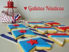 Celebra con Ana | Compartiendo experiencias creativas: Galletas de banderas náuticas