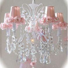lampadario-rosa