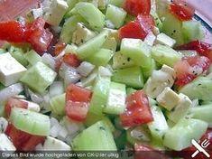 Gurken, Tomaten, Fetasalat