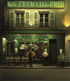 """La Cremaillere"" - Alexei Butirskiy Limited Edition Giclee on Canvas"