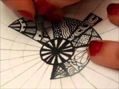 I will be doing a zentangle each day for you to enjoy. If you want to request a tutorial for any of the tangles that I am doing, leave a comment below or send a direct message with the timestamp of the tangle and I will be happy to make a tutorial for you.  Supplies Used: Micron Pigment, Sharpie, Bic MarkIt, pencil, compass, ruler  My Links: Blo...