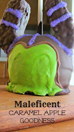 Maleficent caramel apple  Disney World