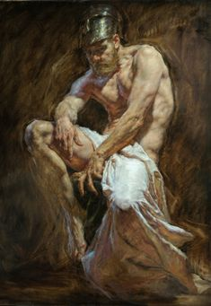 """Robert Liberace, """"Ares"""" - 48x36, oil on canvas -- at Principle Gallery"""