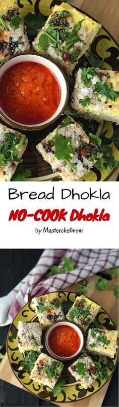 MASTERCHEFMOM: Bread Dhokla |Sandwich Dhokla | Instant Bread Dhokla | No Cook Bread Dhokla | Quick and Easy Recipe | Stepwise Pictures Indian Snacks, Indian Food Recipes, Asian Recipes, Indian Desserts, Spicy Recipes, Vegetarian Recipes, Cooking Recipes, Veg Recipes, Recipies