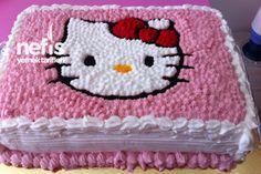 Hello Kittyli Doğum Günü Pastası
