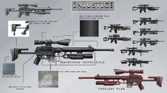 Deathstroke Weapons | Deathstroke Weapons Deathstroke Cosplay, Deathstroke The Terminator, Samurai Tattoo, Shadowrun, Teen Titans, Art Blog, Black Metal, Weapons, Concept Art