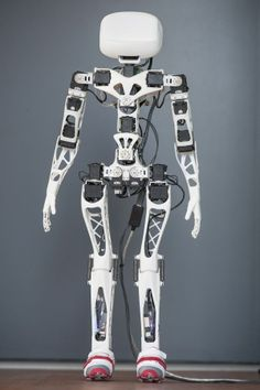 3D Printing Cybernetic. More about Poppy: http://3DPrintBoard.com