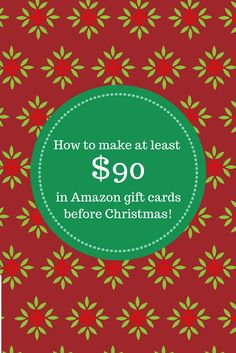 Easy Christmas Cash!  Earn paypal, amazon gift cards, walmart gift cards!