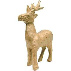 Paper-Mache Figurine -Reindeer Decopatch http://www.amazon.co.uk/dp/B0062AAQNS/ref=cm_sw_r_pi_dp_H6zawb0VKE1MS