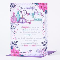Daughter Birthday Cards myfreeprintablecardscom Printable