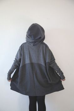 NEW FOR FALL // dark ore // oversize hoodie by raintower on Etsy