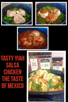 YIAH Salsa Chicken for dinner tonight - Taste of Mexico  available this month @ www.kylieelms.yourinspirationathome.com.au