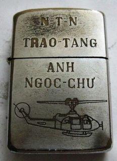 vintage vietnam war zippo lighters -