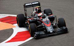 Jenson Button in his Mclaren mp4-30