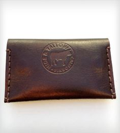 Slim Leather Card Case – With Snaps | Women's Bags & Accessories | Hide and Tallow | Scoutmob Shoppe | Product Detail