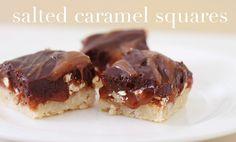 Salted Caramel Squares.