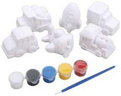 Leksak - Gipsfigurer att måla