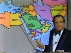 Alan King's The Middle East Story, 1980's - while not making light of the current horrific situation in the Middle East, it is amazing to me that back in the 1980s people understood the background dynamics of the various relationships in the territory.........