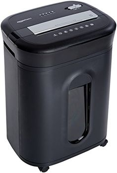 AmazonBasics 15Sheet CrossCut Paper CD Credit Card Shredder -- Visit the image link more details. Note: It's an affiliate link to Amazon