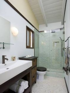 Image result for tiny long thin bathroom