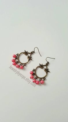 Hey, I found this really awesome Etsy listing at https://www.etsy.com/listing/507318747/cotton-candy-earrings-bird-earrings-pink