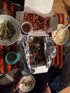dongsun and jeehye potato beer party