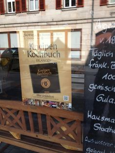 Schnell noch für den Bratwurstsalat einkaufen? Dann am Besten hier und dabei gleich noch das Kneipenkochbuch mitnehmen... In Erlangen, beim Brunner...