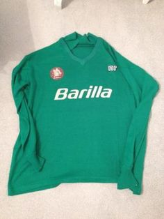 This is a training shirt of Roma from early as worn by falcao and company. The shirt is in good condition apart for a small hole as shown in picture in one of the sleeves. Classic Football Shirts, Football Jerseys, Graphic Sweatshirt, Training, Italy, Sweatshirts, Sleeves, Sweaters, Vintage