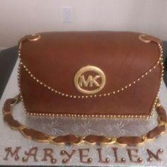 michael kors purse cake tutorial