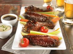 Turkey Farmers of Canada   Recipes   Korean BBQ Turkey Wings