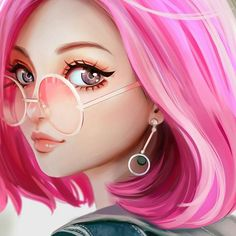 Pretty in pink    #illustration #woodplashlabs #studio #animation #video #infographic #graphicdesign #app #motiondesign #3d #art #graphic #2d #picsart #picture #motion #l4l #pretty #pink #girl
