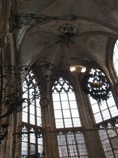 Superb collection of wrought, gilt, silvered and cast iron, housed in 15th century Gothic church - Musee Secq des Tournelles  Rouen, France  セック デ トゥルネル博物館 (鉄工芸博物館)