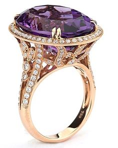 12 Jewelry Trends for 2014: Radiant Orchid Jewels to Color Your Showcases.  Yummy.  ♥