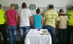 Ofensiva en contra del tráfico de estupefacientes en la localidad de Santa Rosa de Cabal.