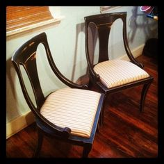 restored antique chair set - $65 (south philly)
