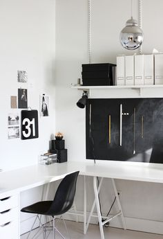 a merry mishap office corner.